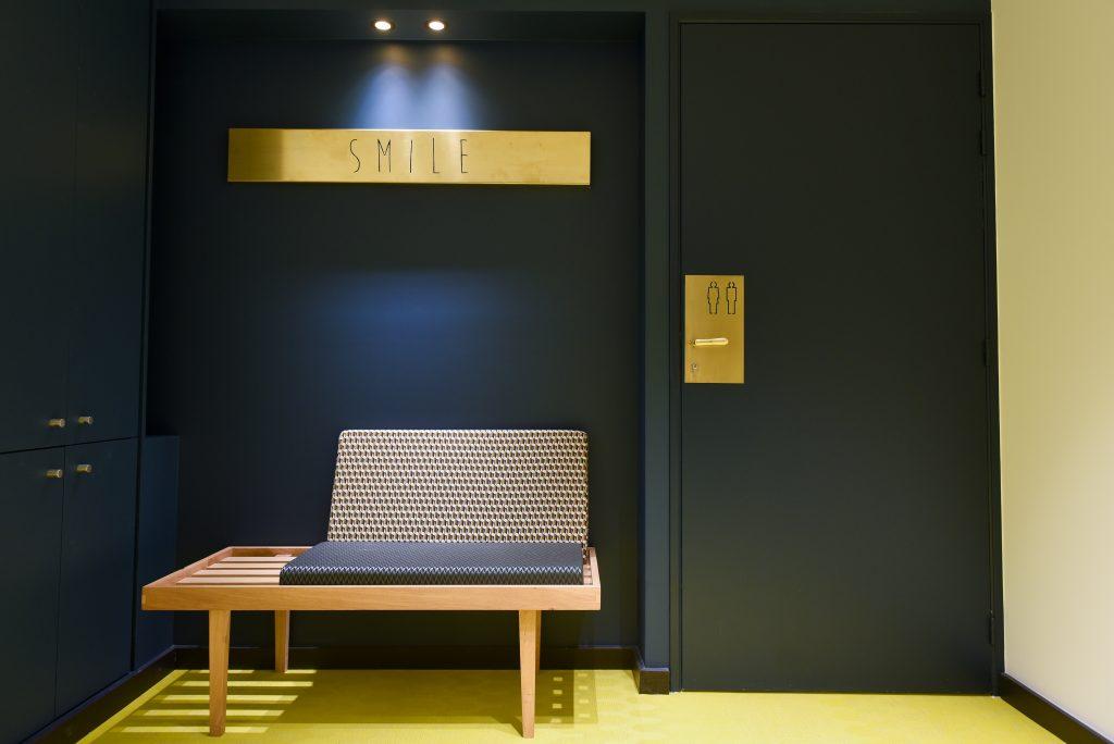 Pièce salle d'attente orthodontiste Lyon